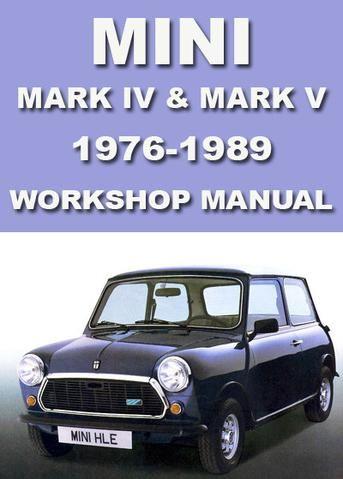 Mini Mark Vi 1990 1995 Workshop Manual