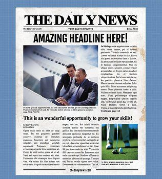 4 Page Newspaper Template Microsoft Word 8 5x11 Inch Newspaper Template Word Newspaper Template Microsoft Word Templates