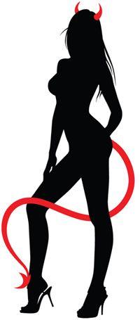 silhouette mistress domme art