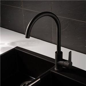 Black Kitchen Faucet Spray Painting Modern Kitchen Tap Kitchen
