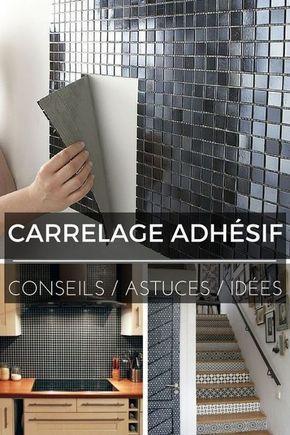 Carrelage Adhesif Tout Ce Que Vous Devez Savoir Carrelage Adhesif Deco Salle De Bain Parement Mural