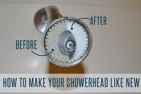 How To Make Your Shower Head Like New And Increase Water Pressure Home Warranty Shower Heads Make It Yourself