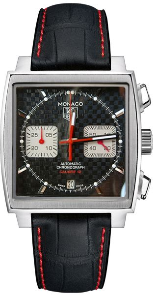 Limited Edition Tag Heuer Mens Monaco Automatic Chronograph Steve McQueen Watch