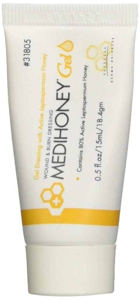 Details About Medihoney Gel Wound Healing And Burn Dressing From
