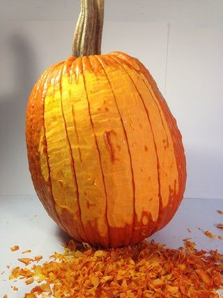 How To Carve A Realistic Face On A Pumpkin Pumpkin Amazing