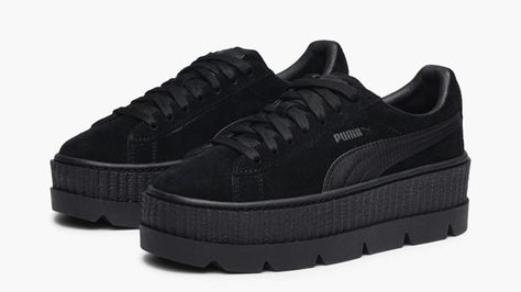 Puma x Fenty Cleated Creeper Black (With images) | Creepers ...