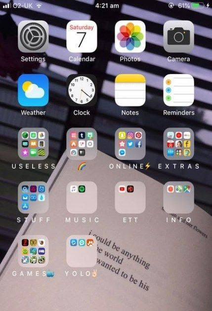 Awesome Home Screen App Ideas In 2020 Homescreen Iphone Iphone