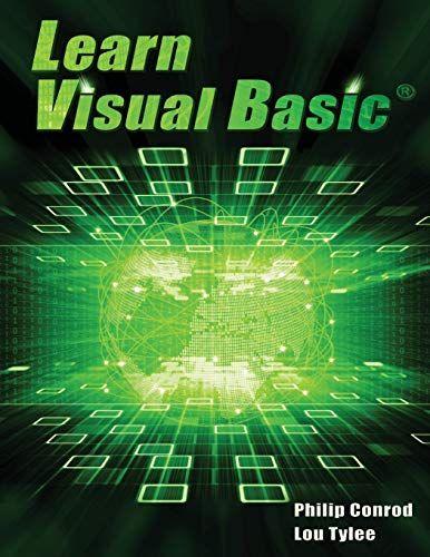 Epub Free Learn Visual Basic A Stepbystep Programming Tutorial