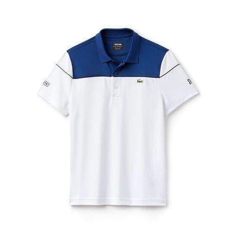Men S Sport Tech Pique Polo Novak Djokovic Collection Designer Clothes For Men Polo Lacoste Men