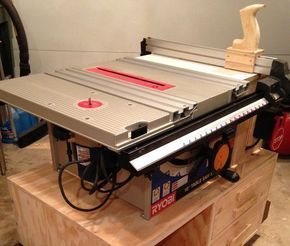 Dual Slot Miter Tables Ryobi Bt3000
