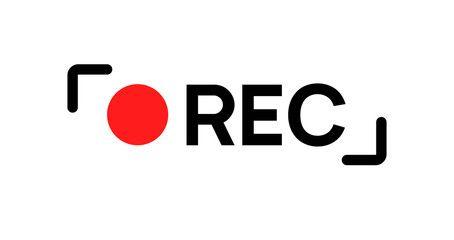 Recording Sign Icon Red Logo Camera Video Recording Symbol Rec Icon Ad Red Logo Icon Recording Sign Ad Logos Camera Logo Icon