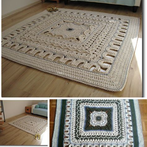 Giant Area Rugs Free Crochet Patterns