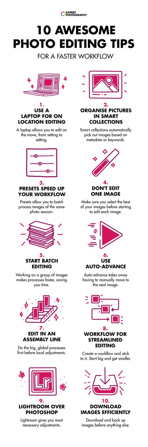 10 Awesome Photo Editing Tips for a Faster Workflow
