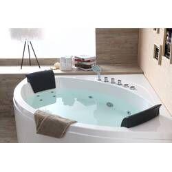 59 X 59 Double Seat Corner Whirlpool Bathtub Whirlpool Bathtub Jetted Bath Tubs Whirlpool Bath