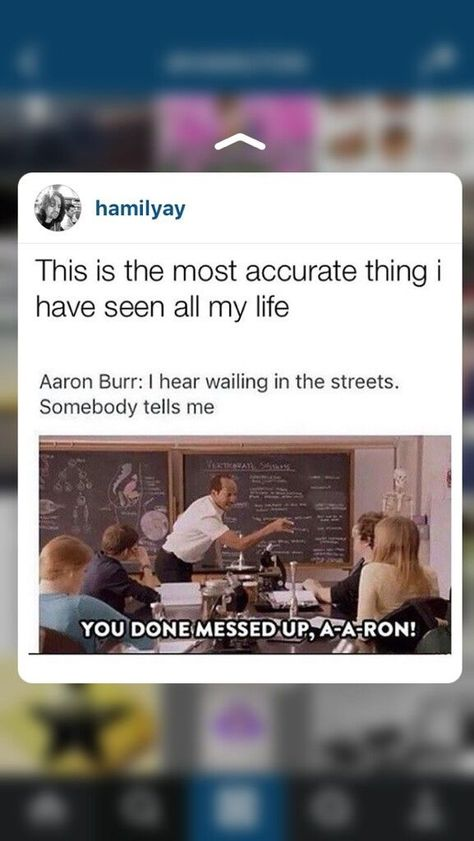 You Done Messed Up A A Ron Hamilton Funny Hamilton Memes