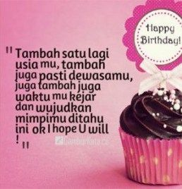 Happy Birthday Quotes Indonesia Happy Birthday Quotes