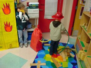 Dramatic Play fire fighters