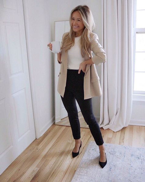 Cute Professional Outfits, Business Professional Attire Women, Modest Casual Outfits, Classic Work Outfits, Business Casual Outfits For Work, Business Outfits Women, Cute Work Outfits, Spring Work Outfits, Summer Business Casual Women