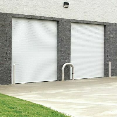 American Garage Door M422 10x10 Rolling Slat Door 3 16 Door Thickness Garage Doors Door Design American Garage Door