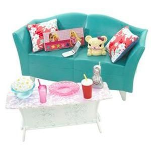 2008 My House Basic Furniture Couch Furniture L9481 Barbie