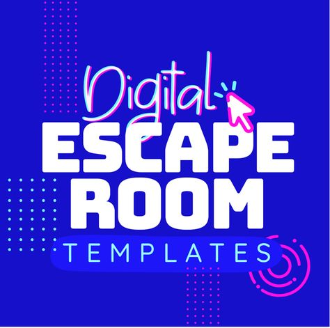 Use these ready-to-go digital templates to create your own paperless puzzles, games, activities or escape rooms. These digital templates were created for both personal and commercial use. These pre-made templates will save you hours of time!  This digital template kit will get you on your way to creating engaging resources for your own classroom and/or TpT store. Edit the templates for any subject area. Paperless. No printing. No locks required. Future Classroom, Ela Classroom, Google Classroom, Learning Resources, Teacher Resources, Teaching Themes, 6th Grade Ela, Secondary Teacher, Blended Learning