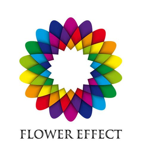colorful logo. Also links to Illustrator tutorials on logo design