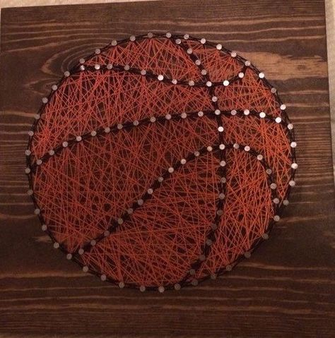 Basketball String Nail Art | Products | Basket ball, Signs
