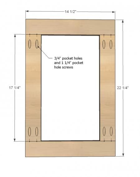 Ana White | Build A Easy Frame And Panel Doors | Free And Easy DIY Project  And Furniture Plans | Build It And They Will Come | Pinterest | Easy Frame,  ...