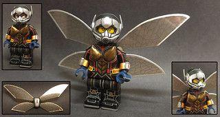 Antman Antman /& The Wasp Custom Mini Figures