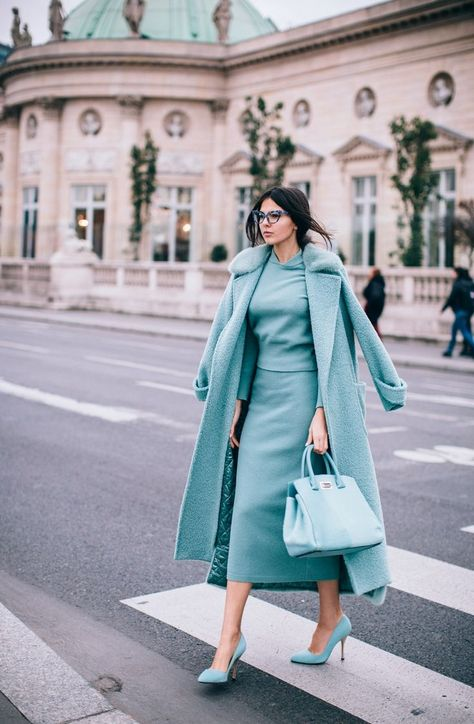 25 Ways to Pull off a Monochromatic Outfit like a Street Style Star