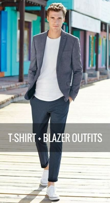 How To Wear Blazer Men Outfit 24+ Best Ideas | How to wear