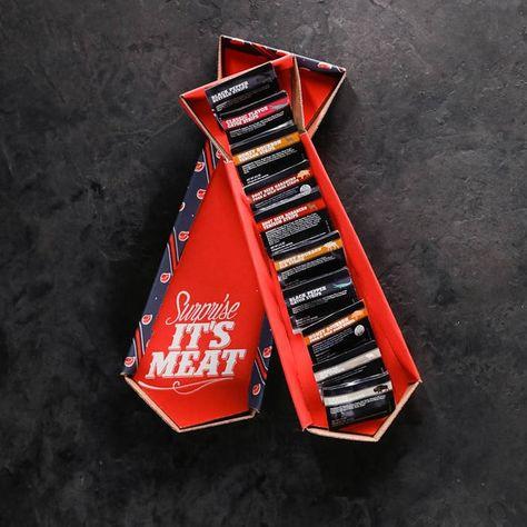 Exotic Jerky Tie   Man Crates