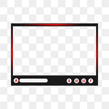 Red Twitch Game Overlay For Live Streaming Live Streaming Game Png And Vector With Transparent Background For Free Download Overlays Overlays Transparent Selfie Ideas Instagram