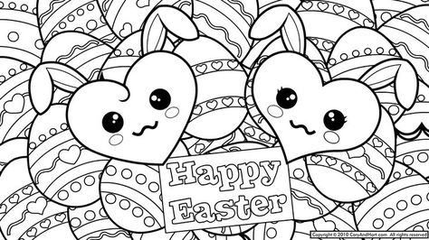 Easter Mosaic Coloring Pages To Print Printable 5 Drawing