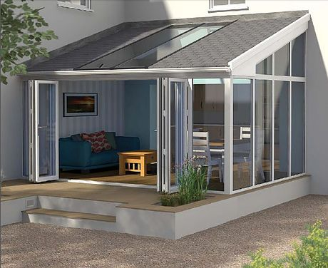 Ultraframe Lean To Insulatedconservatory Roof Curved Pergola Lean To Conservatory Conservatory Roof
