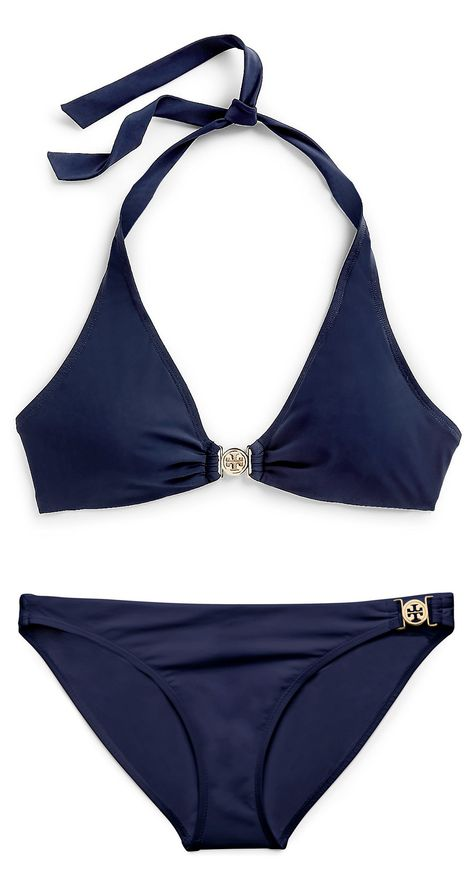 Tory Burch Logo Binkini I plan to be able to wear this by June!!