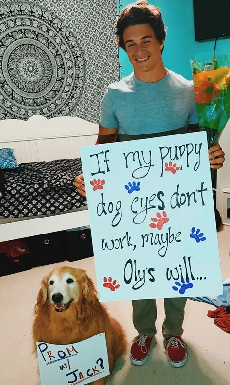 Only for the dog! Best homecoming proposal ever! Only for the dog! Best homecoming proposal ever! Only for the dog! Best homecoming proposal ever! Only for the dog! Best homecoming proposal ever! Cute Relationship Goals, Cute Relationships, Bff Goals, Cute Homecoming Proposals, Wedding Proposals, Marriage Proposals, Wedding Poses, Wedding Ideas, Cute Promposals