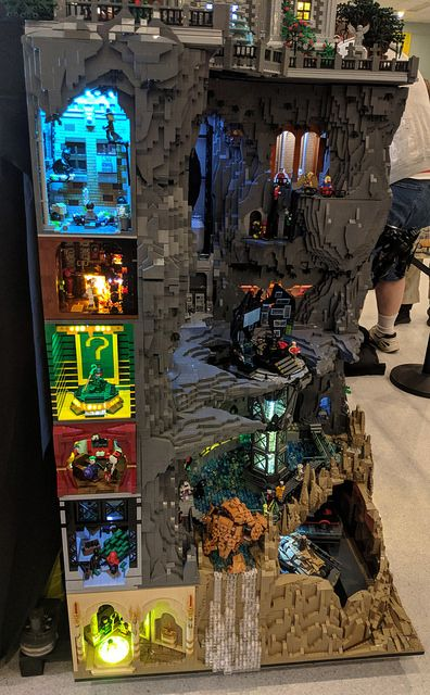 22 - Lego Batman - Ideas of Lego Batman - 22 Lego Minecraft, Lego Moc, Lego Lego, Minecraft Skins, Minecraft Buildings, Bionicle Lego, Lego City, Lego Display, Lego Design