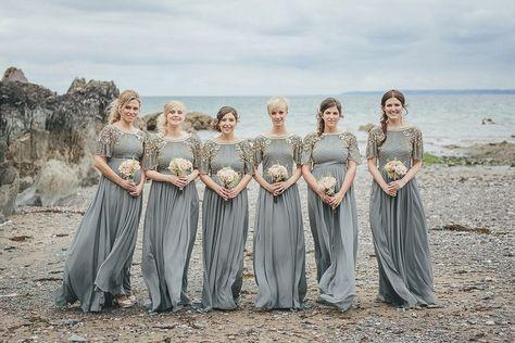 Eliza Jane Howell Glamour for a Cornish Wedding by the Sea   Love My Dress® UK Wedding Blog