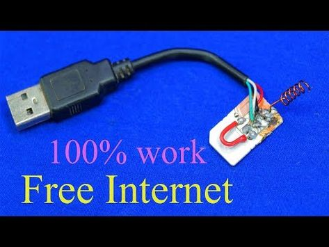 How to get free Internet / FREE INTERNET on any SIM card everywhere you go 100% work - YouTube