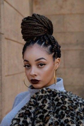 Best African Braids Styles For Black Women | Box braids