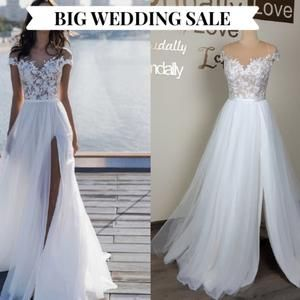 Big Sale Wedding Dress With Long Train Lace Wedding Dress Etsy In 2020 Etsy Wedding Dress Shiny Wedding Dress Wedding Dresses