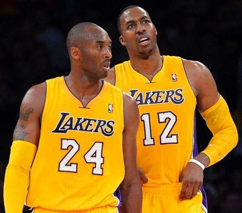 Kobe Bryant Dwight Howard Mark J Terrill Ap Lakers Kobe Bryant Lakers Basketball Lakers Kobe