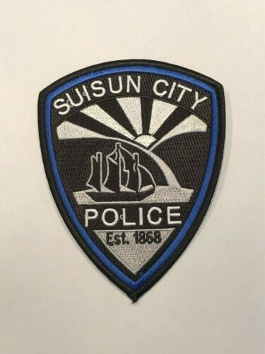 Suisun City Police Patch California With Images Suisun City