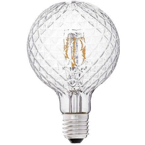 Lampadina Led Globo Filamento Prisma G95 E27 3 5w 2700k Faro 17439 Led Globi E Illuminazione