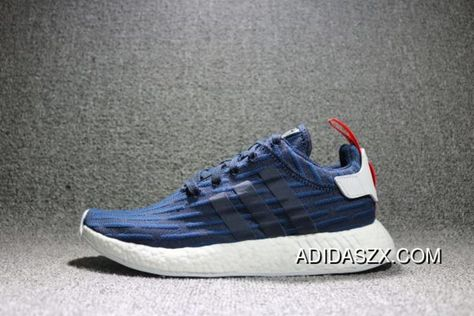 wholesale dealer 598af 1576a Top Deals Adidas Nmd R2 Primeknit Collegiate Navy-Running White Footwear  Mens