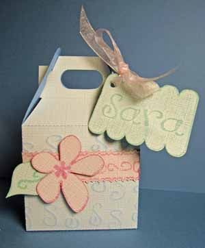 Scrapbooking.com -- Article - Shabby Chic Gift Box