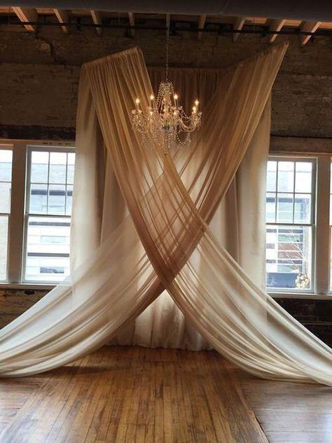 Wedding decorations indoor ceremony backdrop Ideas for 2019
