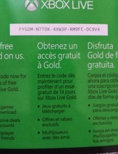 Kostenlos xbox codes Xbox Live