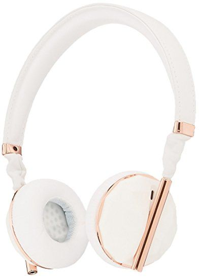 On Ear Headphone Faceted Ceramic Rose Gold In Ear Headphones Rose Gold Headphones Stylish Headphone
